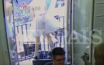 Βίντεο-ντοκουμέντο από τη φονική πορεία του βαν στη Βαρκελώνη