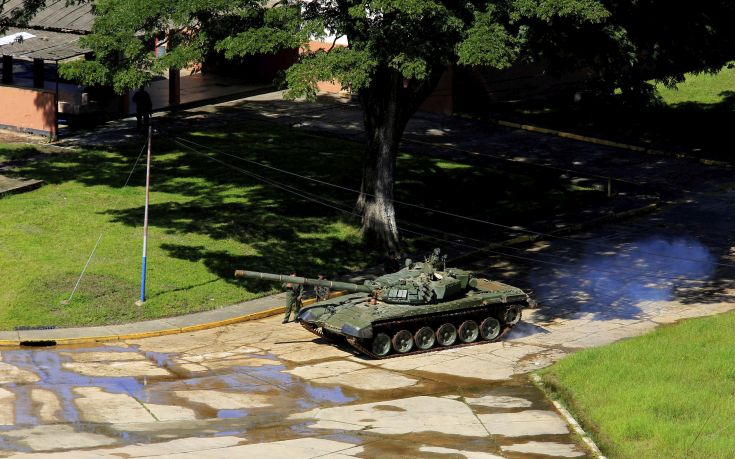 Ανθρωποκυνηγητό στη Βενεζουέλα για δέκα από τους δράστες της επίθεσης σε στρατιωτική βάση