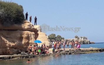 Τραυματισμός τουρίστα σε παραλία της Κρήτης