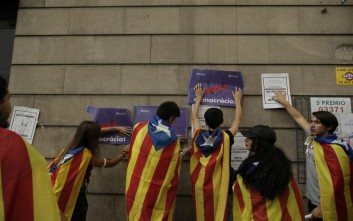 Επιμένει η ισπανική κυβέρνηση: Δεν θα πραγματοποιηθεί δημοψήφισμα