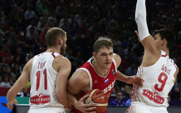 Με Ρωσία η Εθνική στα προημιτελικά του Eurobasket