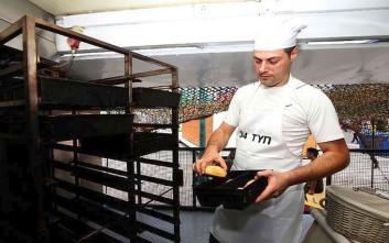 Ψωμί, ελιόψωμο και σταφιδόψωμο θα ψήνει και θα μοιράζει ο στρατός στη ΔΕΘ