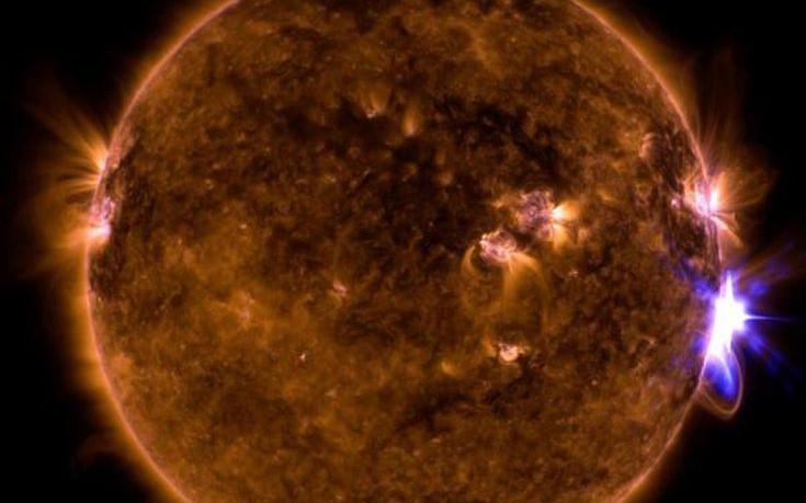 Ο Ήλιος εξαπέλυσε την πιο ισχυρή έκλαμψη της 12ετίας