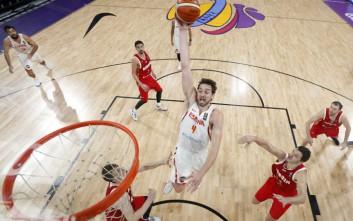 Χάλκινη η Ισπανία στο Eurobasket