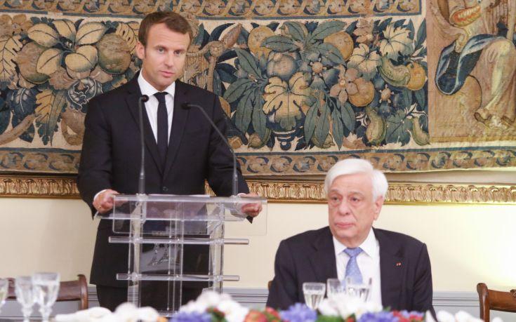 Μακρόν: Ήρθε η ώρα η Ελλάδα να αποκτήσει την οικονομική της κυριαρχία