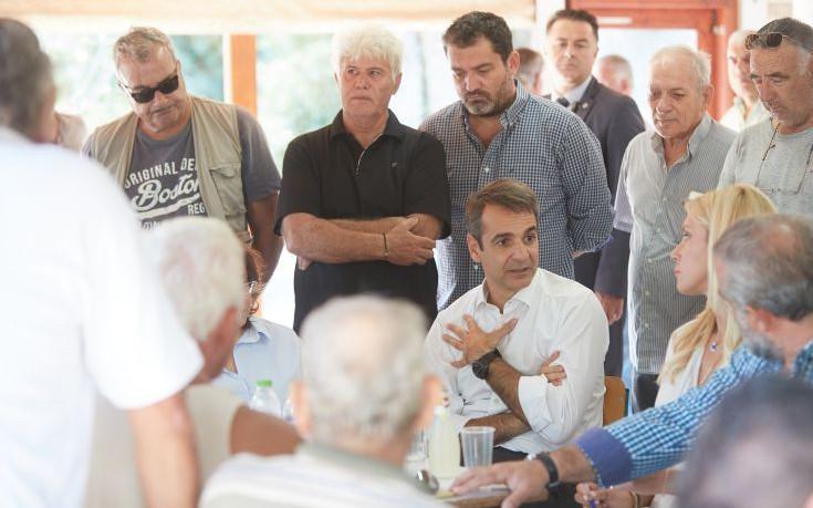 Μητσοτάκης: Ο πρωθυπουργός είναι παντελώς απών