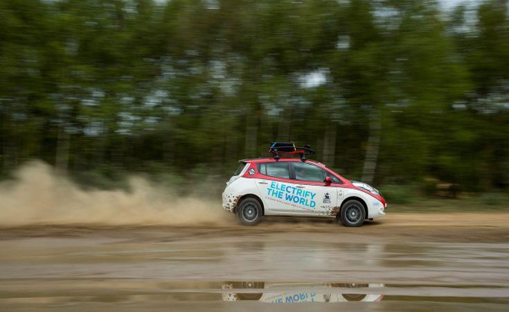 Στο Ράλι Μογγολίας το Nissan Leaf AT-EV