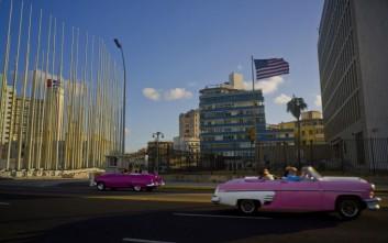 Οι ΗΠΑ αποσύρουν προσωπικό από την πρεσβεία τους στην Κούβα