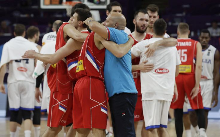 Εύκολα η Σερβία στα ημιτελικά του Eurobasket