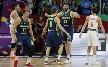 Ομάδα-όνειρο η Σλοβενία προκρίθηκε στον τελικό του Eurobasket
