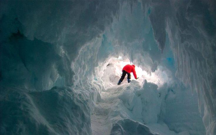 Σημάδια ζωής στις σπηλιές της Ανταρκτικής ανακάλυψαν επιστήμονες
