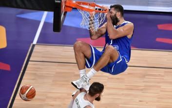 Το κάρφωμα του Μπουρούση στο Top 5 του Ευρωμπάσκετ