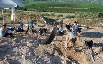Σπουδαίος μυκηναϊκός τάφος με έναν μοναδικό νεκρό στον Ορχομενό Βοιωτίας