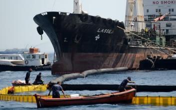 Συλλήψεις για λαθρεμπόριο στο πλοίο που έκανε απάντληση στο «Αγία Ζώνη ΙΙ»