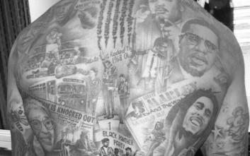 Τατουάζ γεμάτο ιστορία για τον Αντρέ Γκρέι