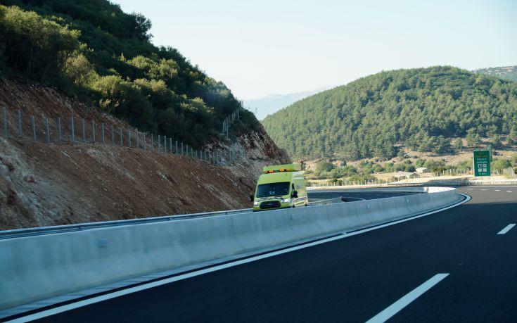 Τροχαίο με δύο εγκλωβισμένους στην Κρήτη