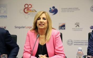 Φώφη για Νίκο Ανδρουλάκη: Δεν μπαίνω σε μικρότητες και χτυπήματα κάτω από τη μέση