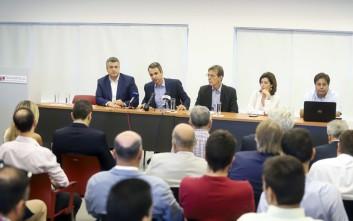 Μητσοτάκης: Να γίνει η Θεσσαλονίκη πόλος υψηλής τεχνολογίας
