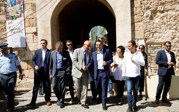 Τσίπρας: Θα κινήσουμε προς τα μπρος τον τροχό της Ιστορίας