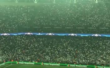 Το γήπεδο της Μπεσίκτας μετατράπηκε σε… ουρανό με αστέρια