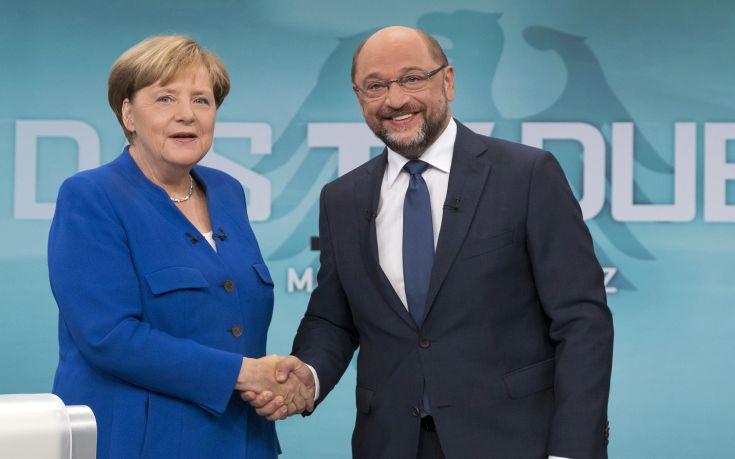 Συμφωνία Μέρκελ - Σουλτς για σχηματισμό κυβέρνησης στη Γερμανία
