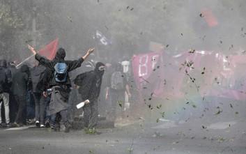 Επεισόδια στο Παρίσι στη διαδήλωση κατά των εργατικών μεταρρυθμίσεων