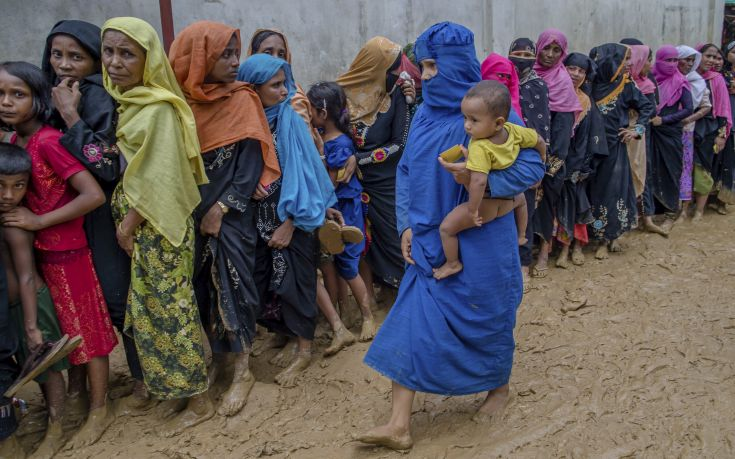 Διάσημη ηθοποιός καλεί τον ΟΗΕ να αναλάβει δράση για τους Ροχίνγκια