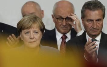Ανέλαβε την ευθύνη για τις απώλειες του CDU η Μέρκελ