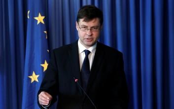 Βάλντις Ντομπρόβσκις: Έρχεται ανάπτυξη, αλλά αυξάνονται οι κίνδυνοι