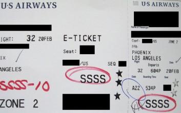 Αυτός ο κωδικός στην κάρτα επιβίβασης σας σημαίνει πως... μπλέξατε