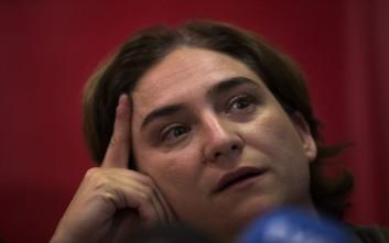 Μεσολάβηση της ΕΕ στην κρίση με τη Μαδρίτη ζητεί η δήμαρχος της Βαρκελώνης