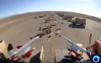 Το Ιράν αποκάλυψε την ύπαρξη τεράστιας βάσης με drone