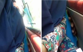 Κορίτσι φωτογράφισε μέσα σε λεωφορείο τη στιγμή της απόπειρας σεξουαλικής παρενόχλησης