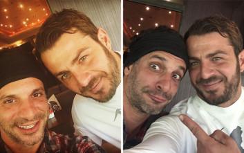 Οι selfies του Ντάνου και του Χρανιώτη μετά το Survivor