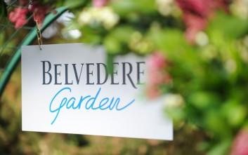 Η πόλη απολαμβάνει τη μαγεία και ομορφιά του «φυσικού» στον pop-up κήπο της Belvedere
