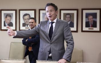 Ο Ντάισελμπλουμ στο υπουργείο Οικονομικών και το καρφί για τον Βαρουφάκη