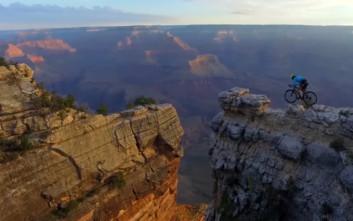 Ποδηλασία που κόβει την ανάσα στο Grand Canyon