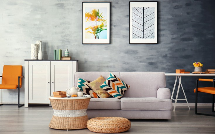 Τρεις χρωματικές επιλογές που κρύβουν τις ατέλειες στον τοίχο