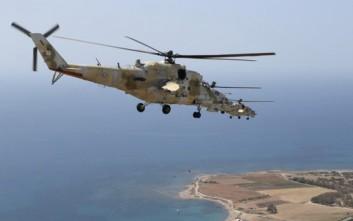 Μαζική απογείωση των «θηριωδών» ρωσικών ελικοπτέρων της Κύπρου