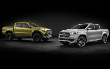 Η X-Class είναι το νέο pick-up της Mercedes