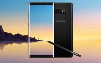 Το Samsung Galaxy Note8 ήρθε στην WIND