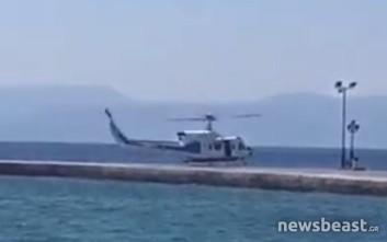Αεροδιακομιδή 22χρονου ψαροντουφεκά από την Αίγινα στο Τζάνειο