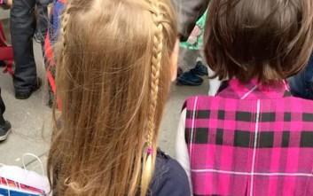 Πρώτη μέρα στο σχολείο για την κόρη του Νικολά Σαρκοζί