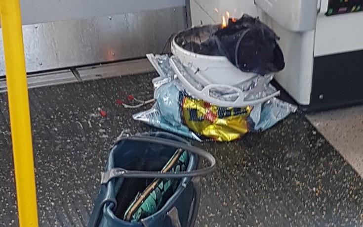 Οι πρώτες φωτογραφίες από την έκρηξη στο μετρό στο Λονδίνο