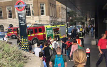 Φορτιστής σε τσάντα εξερράγη τελικά στο μετρό του Λονδίνου