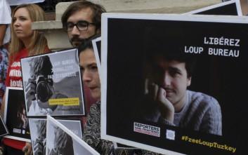 Κουρασμένος και ανακουφισμένος ο Γάλλος δημοσιογράφος Λου Μπιρό