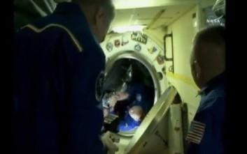 Έφτασε στον Διεθνή Διαστημικό Σταθμό το Σογιούζ