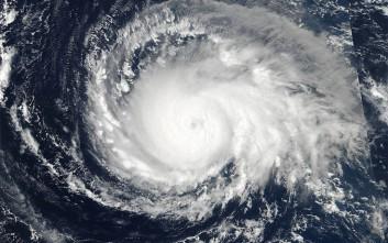Ο Τυφώνας Ίρμα από το δορυφόρο της NASA
