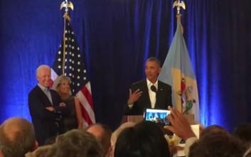 Ομπάμα για τον αποχωρισμό από την κόρη του: «Ήταν σαν επέμβαση ανοιχτής καρδιάς»