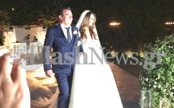 Με κρητικό… άρωμα ο λαμπρός γάμος της Ελένης Τσολάκη